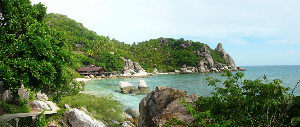 Freedom Beach Beach Koh Tao Thailand
